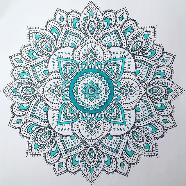 Todays Mandala Marker Mandala Markers Mandalas Color Colors - Mandalas-en-color