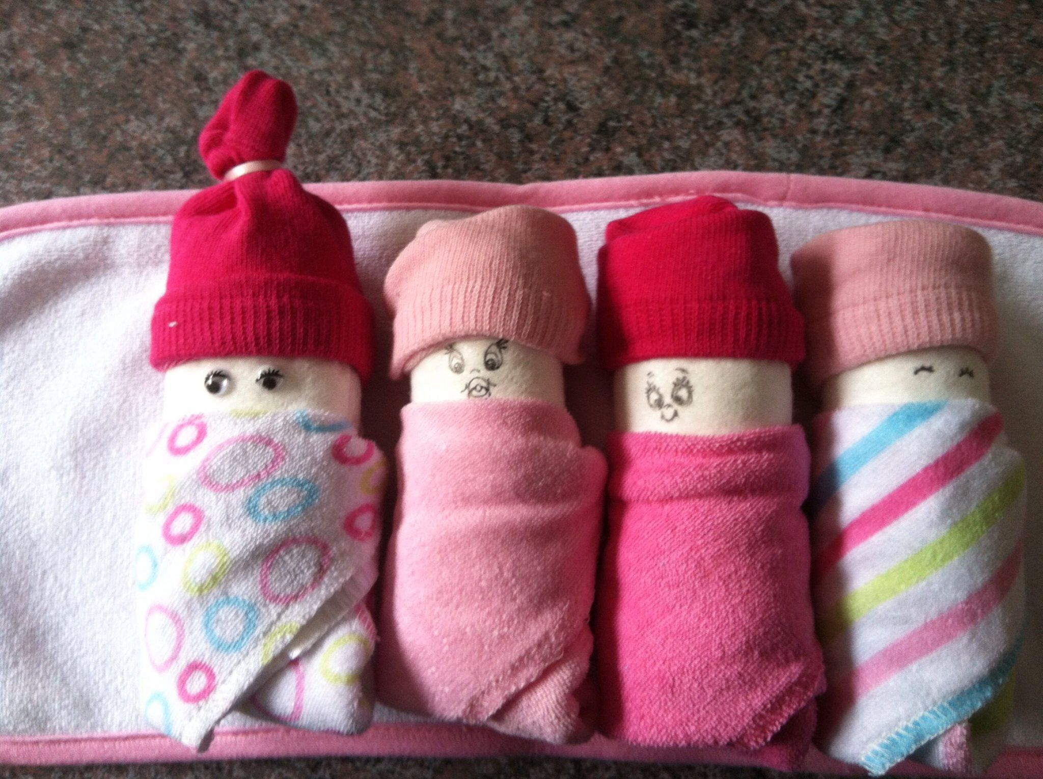 Baby -  diapers and socks
