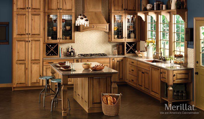Merillat Masterpiece® Cimmaron In Rustic Maple Husk   Merillat® Cabinetry.  Rustic Meets Industrial
