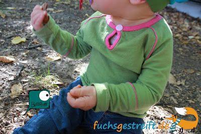Fuchsgestreift: Das Raglan-Girl-Shirt von Buntspechte