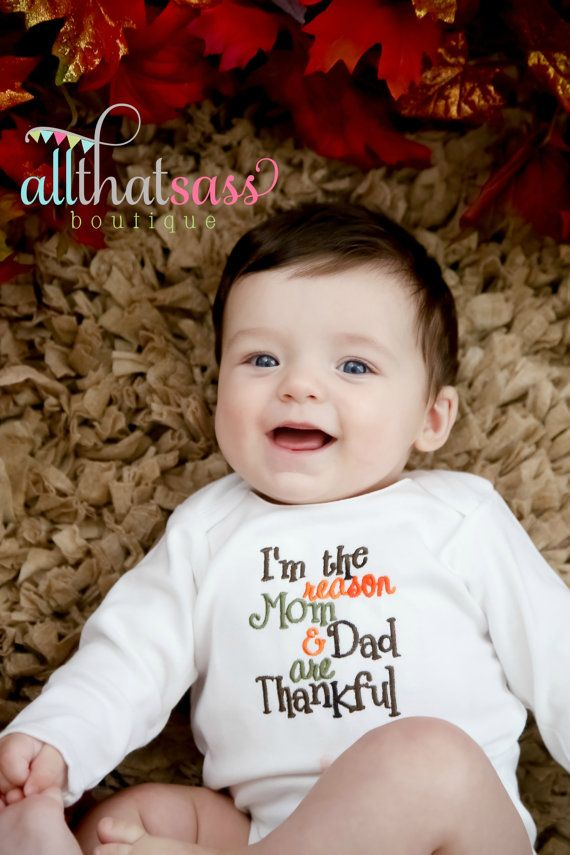 Baby Boys Or Girls Thanksgiving Clothes Bodysuit Creeper