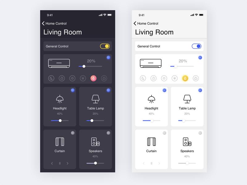 Smart Home Smart Home Design App Interface Design Smart Home