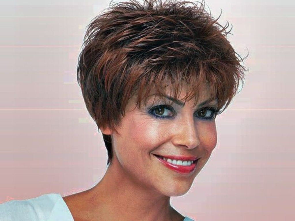 Very Short Hairstyles For Middle Aged Women