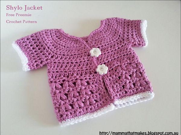 Shylo Jacket   Crochet For Babies & Kids   Pinterest