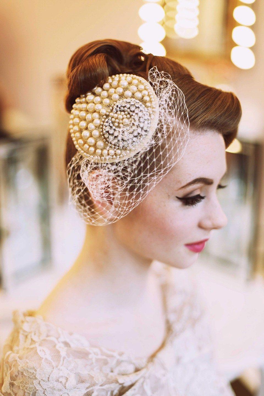 Elegant 1950s fashion for the modern bride wedding