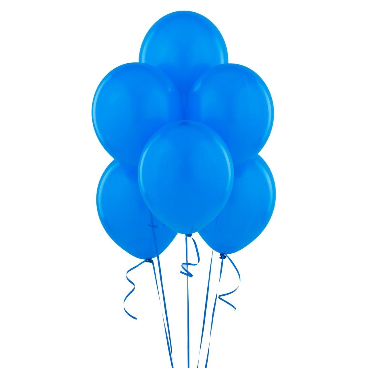 Photo of 144 Blue Balloons latex  helium quality