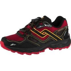 Photo of Pro Touch kids trail running shoes Ridgerunner Iv, size 36 in black / red / orange, size 36 in black