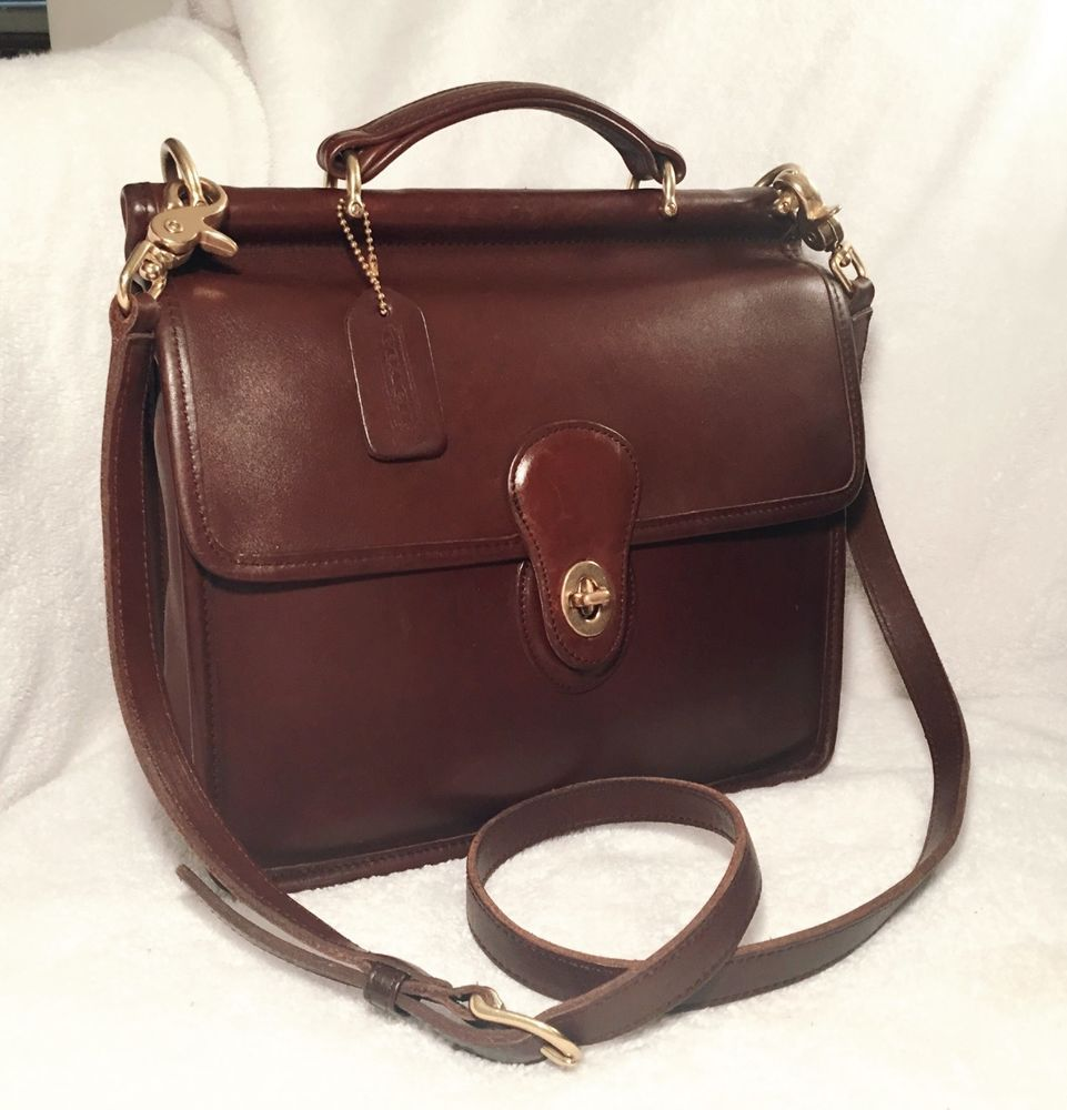 fd9b2e90e Vintage Coach Willis Bag, 9927, Mahogany, Hungary '98 #Coach #Crossbody