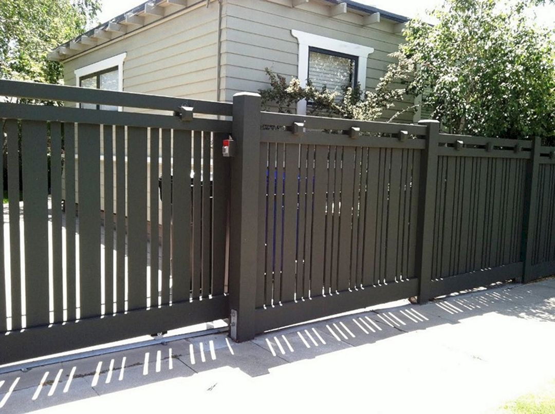 30 Gorgeous Modern Fence Design Ideas To Enhance Your Beautiful
