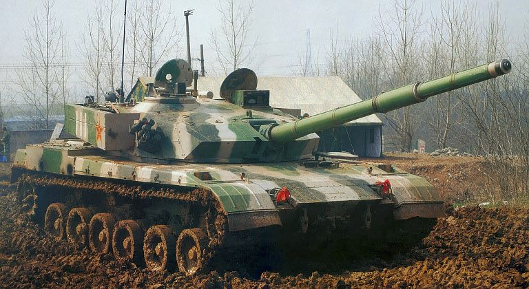 Chinese Type-96 MBT | Modern Armored Fighting Vehicles ...