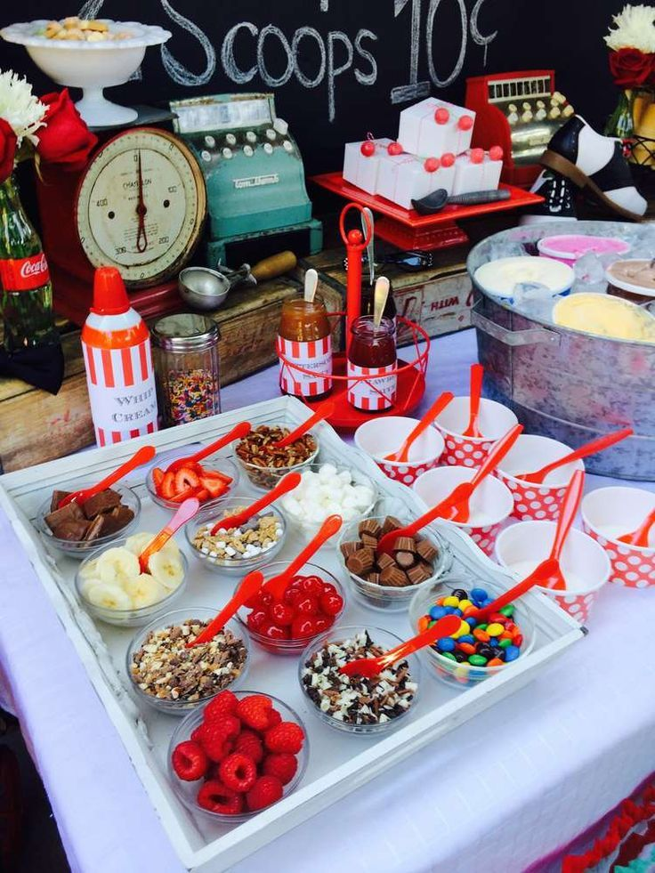 Ice Cream Summer Party Ideas Photo 8 of 21 Catch My