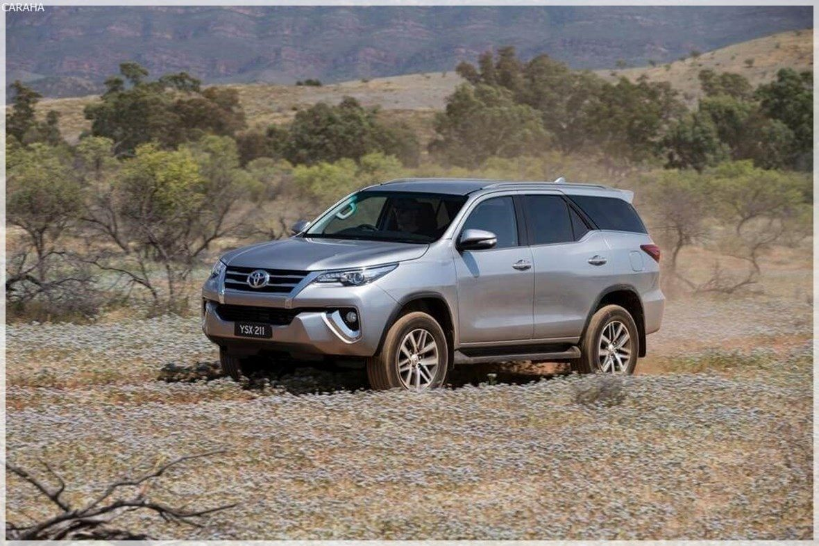 2020 Toyota Fortuner Review Exterior Toyota, Most