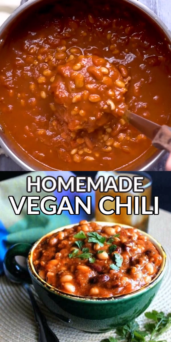 Healthy Vegan Chili with Miced Beans