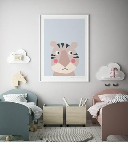 New Baby Nursery art prints - favourite animals images