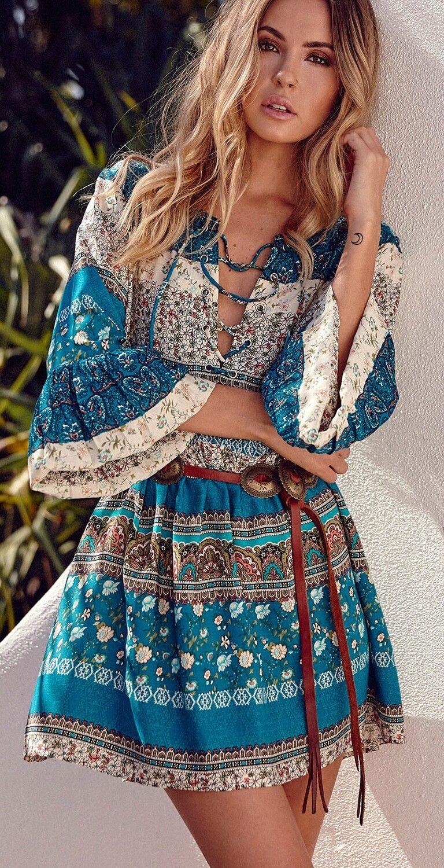 Bohemian Beach Dresses For Women