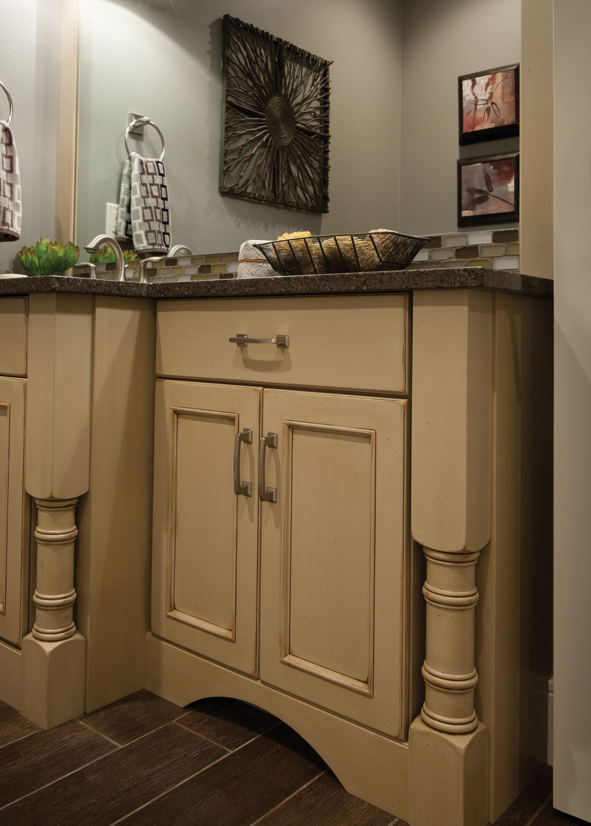 Dura Supreme Bathroom Vanities Shown With The Chapel Hill Panel