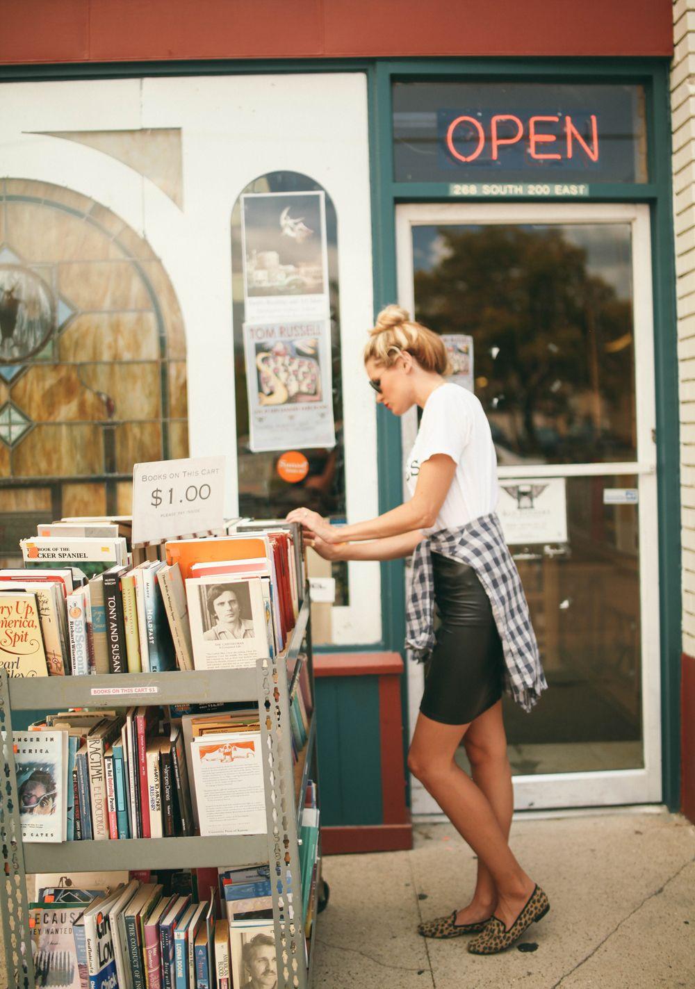 Bookstore Browsing