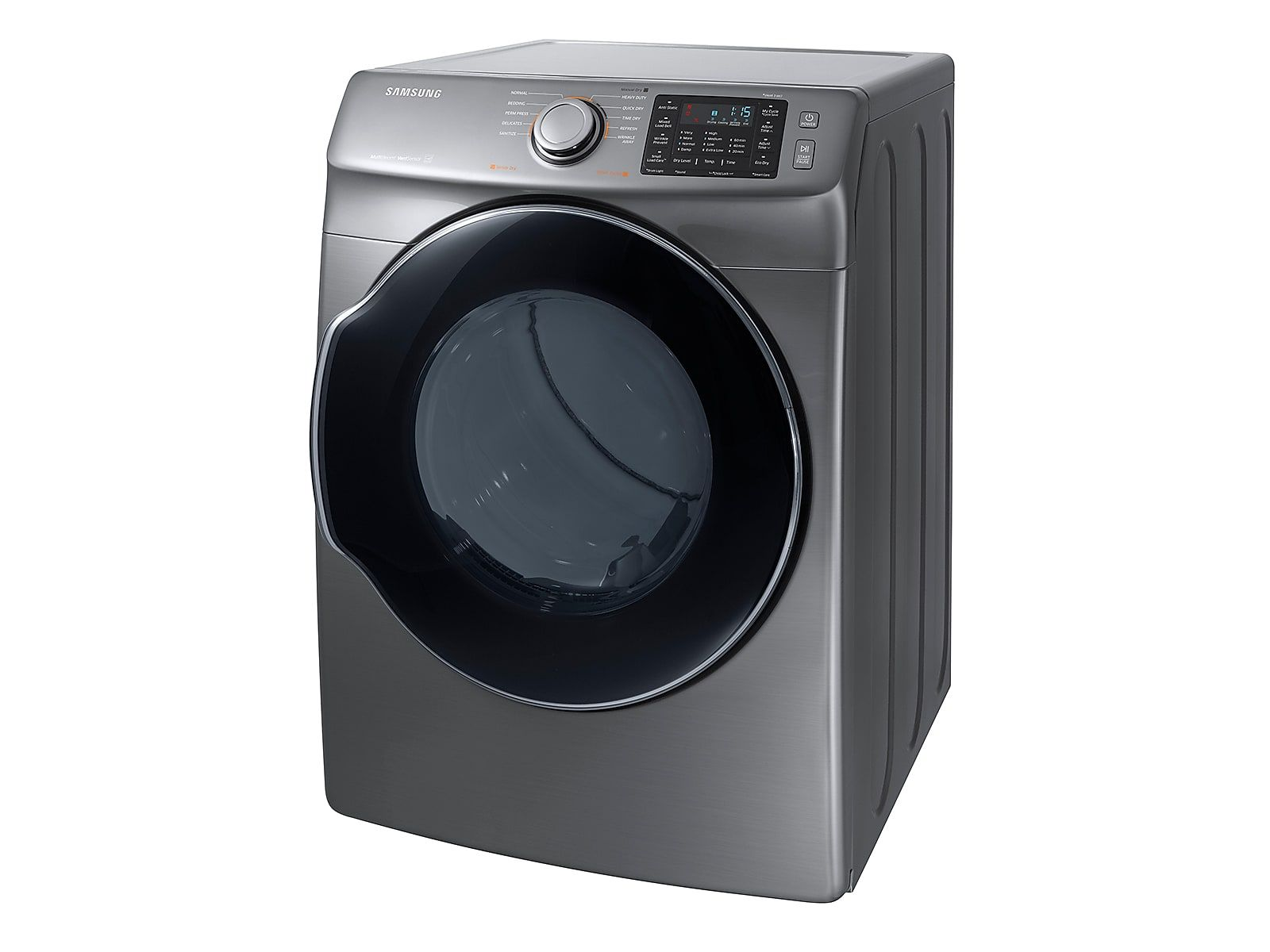 Samsung Dv5500 7 4 Cu Ft Gas Dryer White In 2019 Products Gas Dryer Dryer Washer Dryer