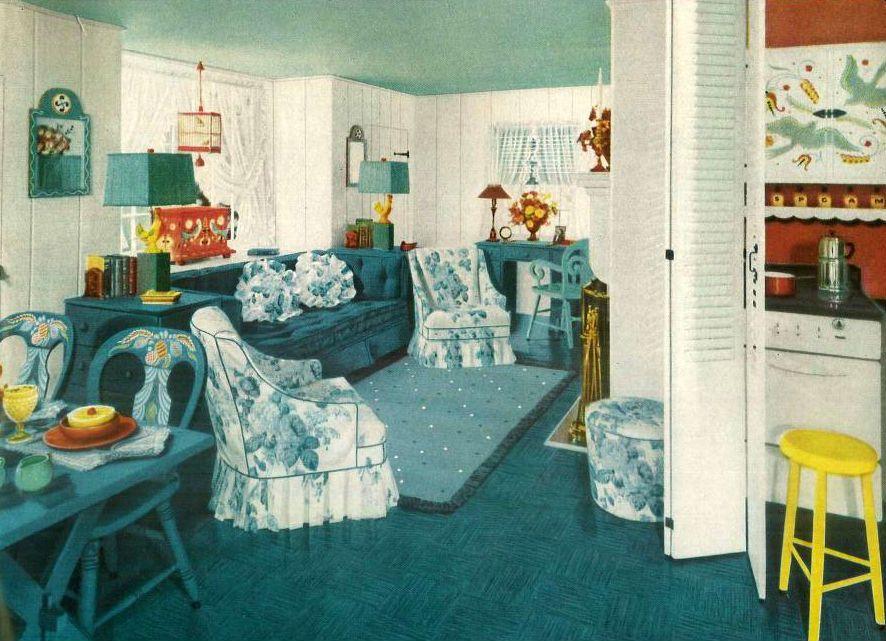 A 1940s Tiny Cottage Interior Classic Home Decor Vintage Home Decor Home Decor Styles
