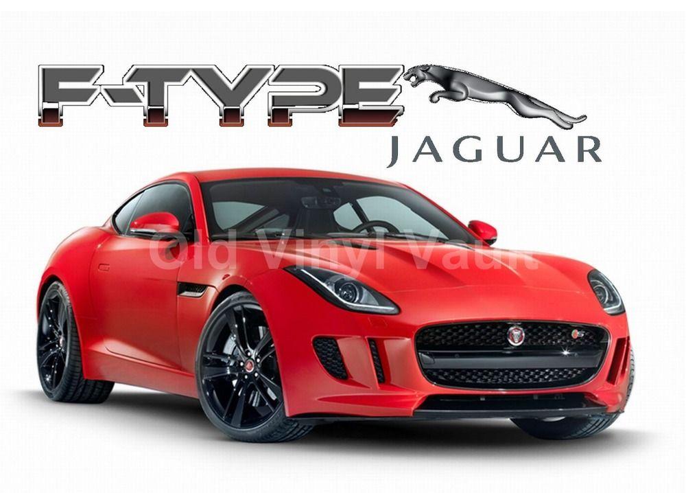 Jaguar Car F TYPE A3 Size New Print | EBay