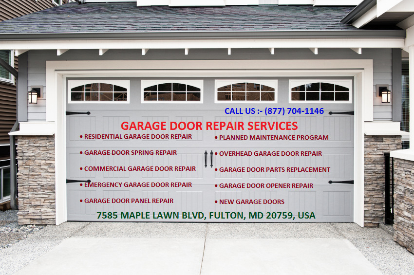 Get Fast And Faithful Garage Door Service By Fulton Locksmith In