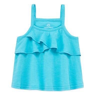 b932d8c22 FREE SHIPPING AVAILABLE! Buy Okie Dokie Tank Top - Baby Girls at ...