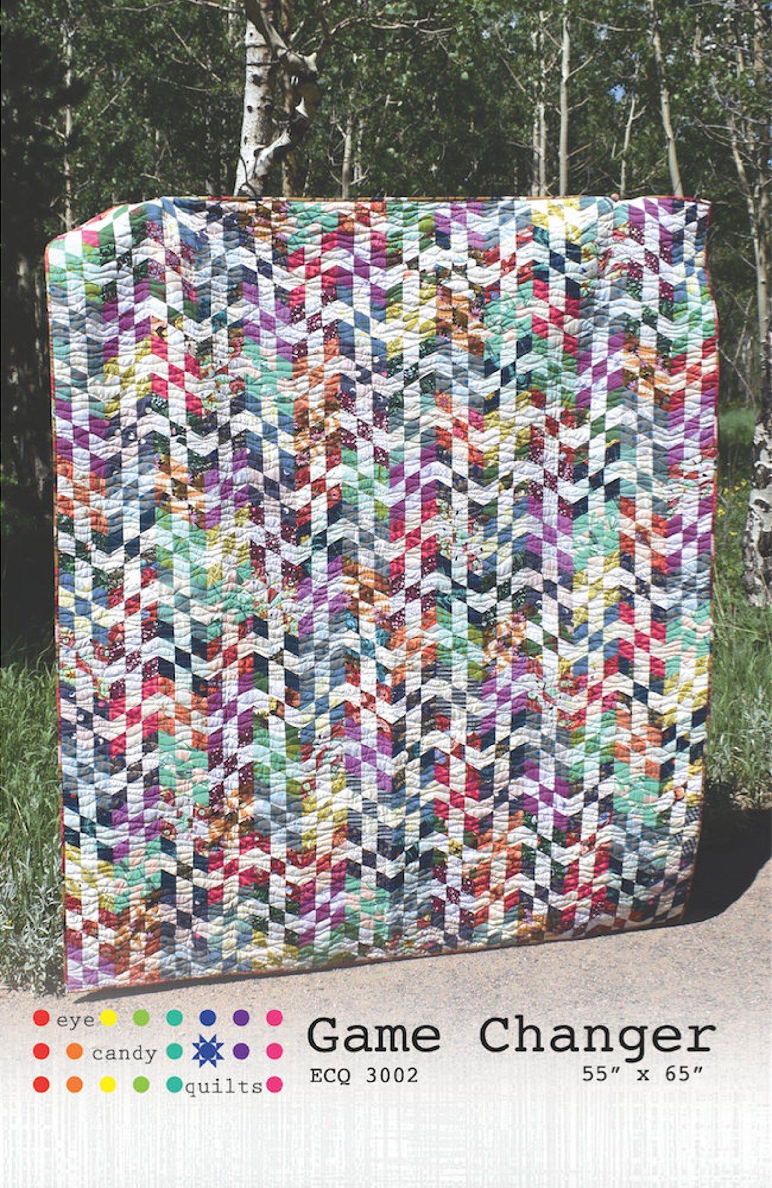 Game Changer Throw Quilt Pattern Quilt patterns, Quilts