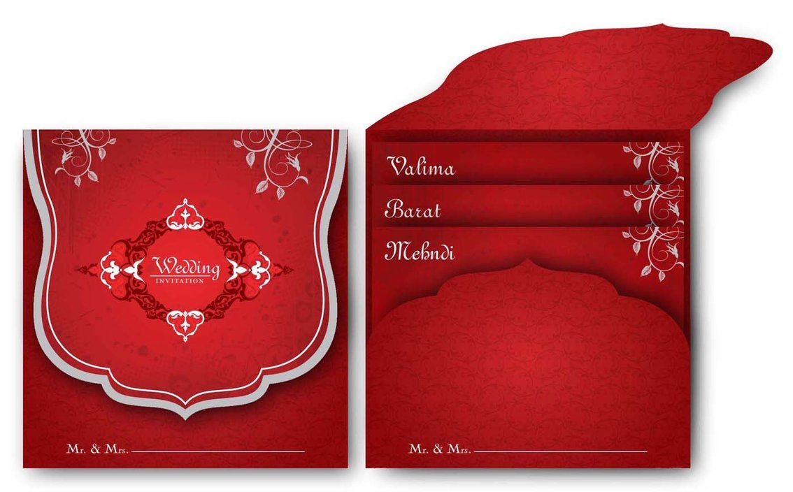 3 in 1 wedding invitation cards - | Greeting Cards | Pinterest ...