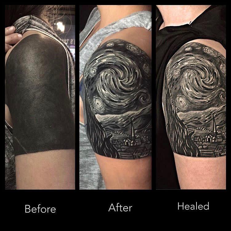 Blackwork Inspiration Inkstinct Hand Tattoo Cover Up Cover Tattoo Cover Up Tattoos