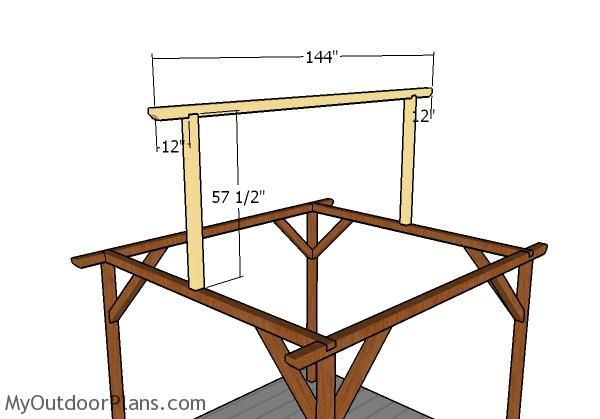 10x10 Pavilion Plans Myoutdoorplans Free Woodworking Plans And Projects Diy Shed Wooden Playhouse Pergola Bbq Pavilion Plans Wooden Playhouse Pergola