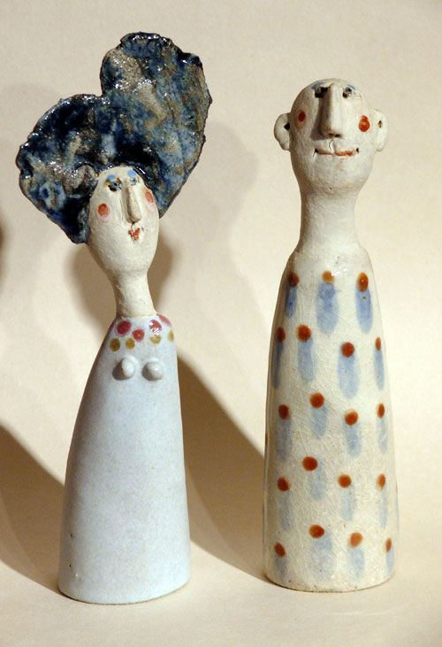 Love jane muir s quirky figures paper clay art