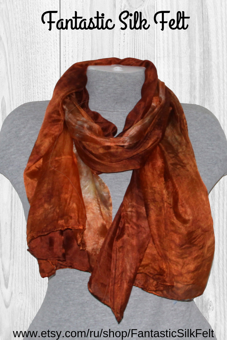 The Silk Scarf Is Perfect For Year Round Wear And Makes A Great Luxury Gift For Someone You Love Or A Much Dese Hand Dyed Silk Silk Dyeing Hand Dyed Silk Scarf