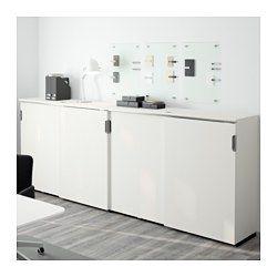 galant aufbewahrung mit schiebet ren wei 320x120 cm ikea b ro pinterest schiebet r. Black Bedroom Furniture Sets. Home Design Ideas