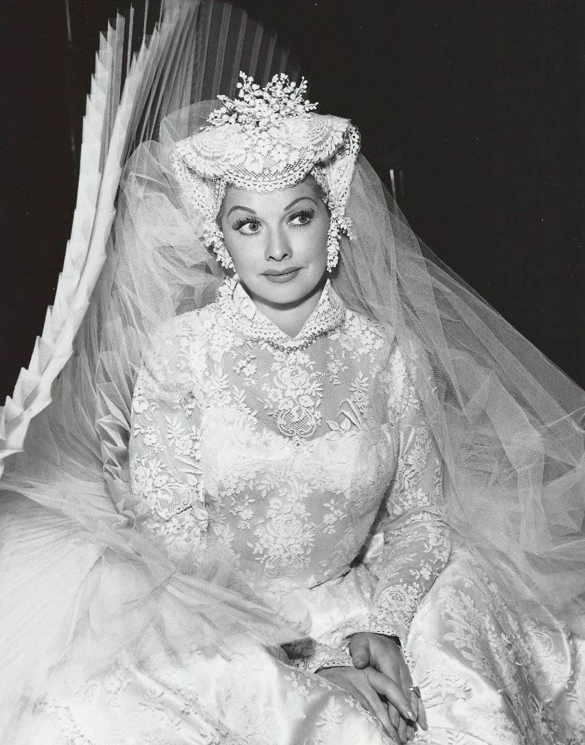 Lucille Ball In Jean Louise Wedding Dress From Forever Darling