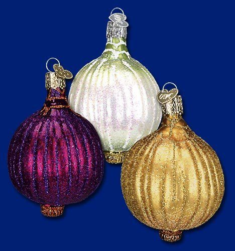 Ornament Assorted Onion -- Click image to review more details.