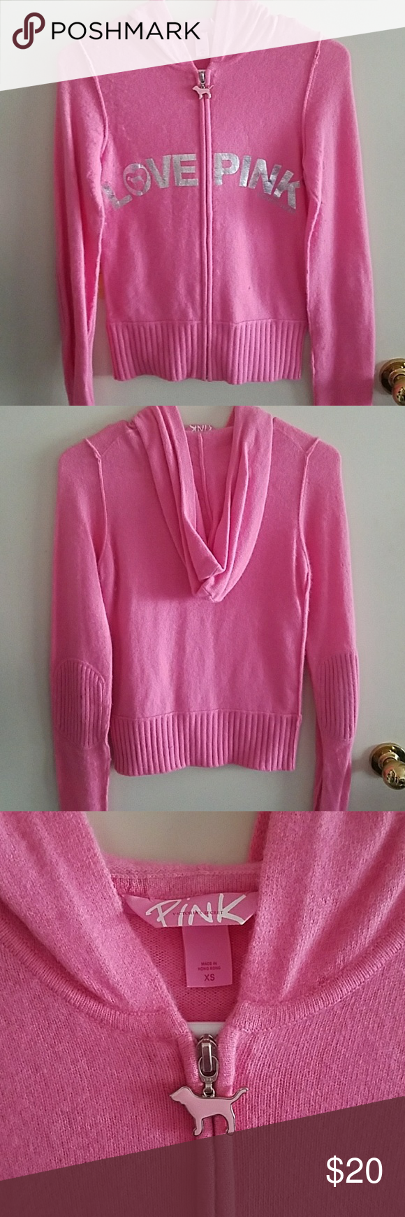 Full zipper Pink sweater | Angora rabbit, Pink dog and Lambs