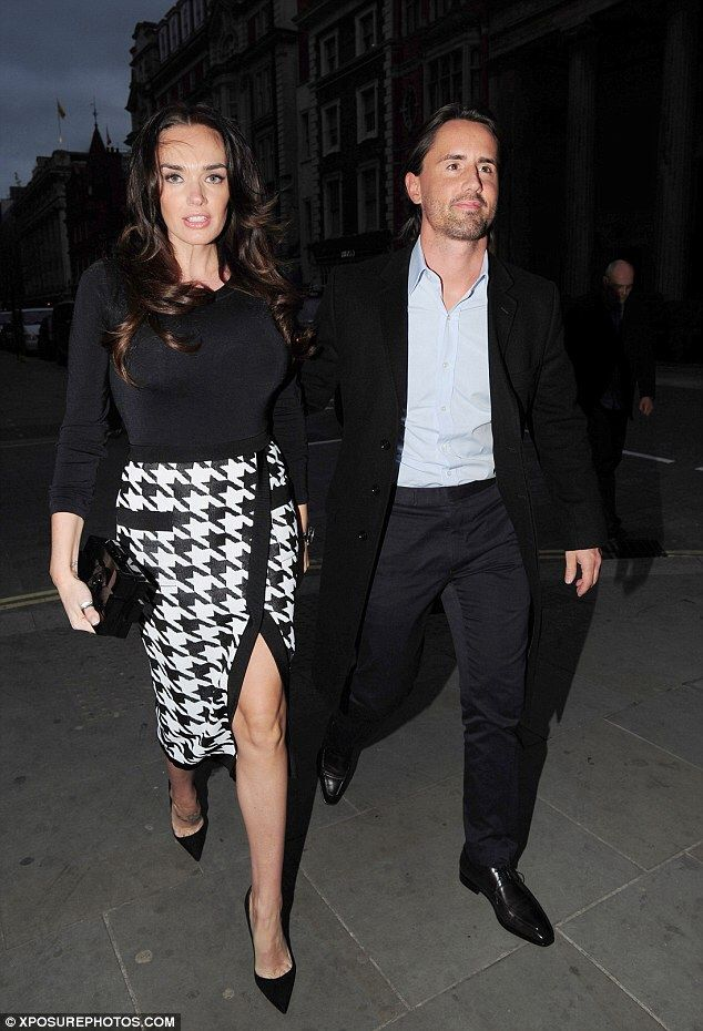 Jay and Tamara out for dinner
