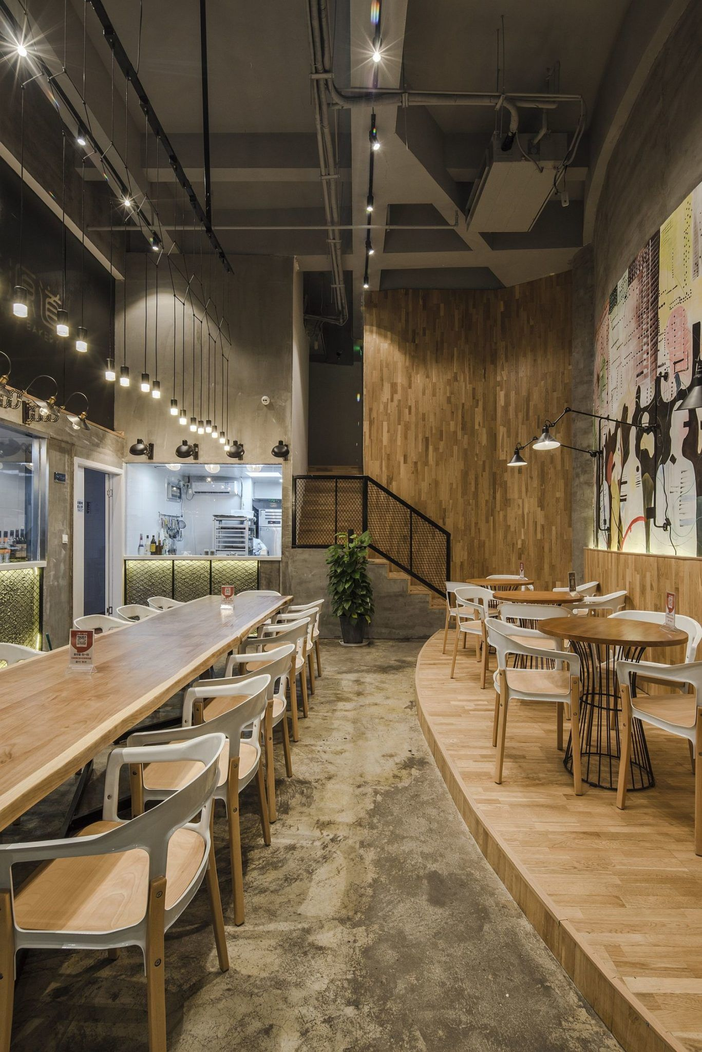 Original Bakery In China With A Modern-Industrial, Multi