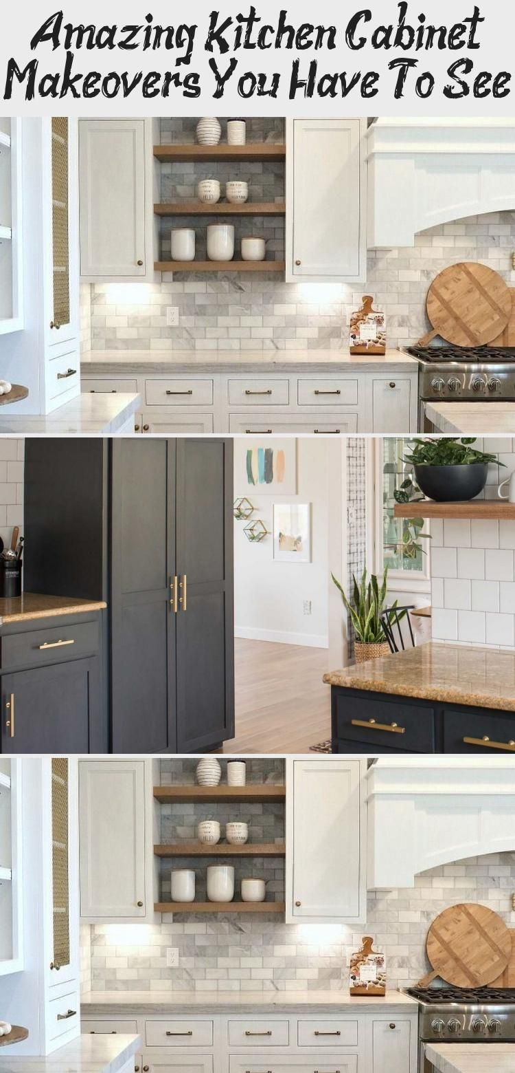 Amazing Kitchen Cabinet Makeovers You Have To See Ktchn In 2020 Country Kitchen Countertops Kitchen Cabinets Black Kitchen Countertops