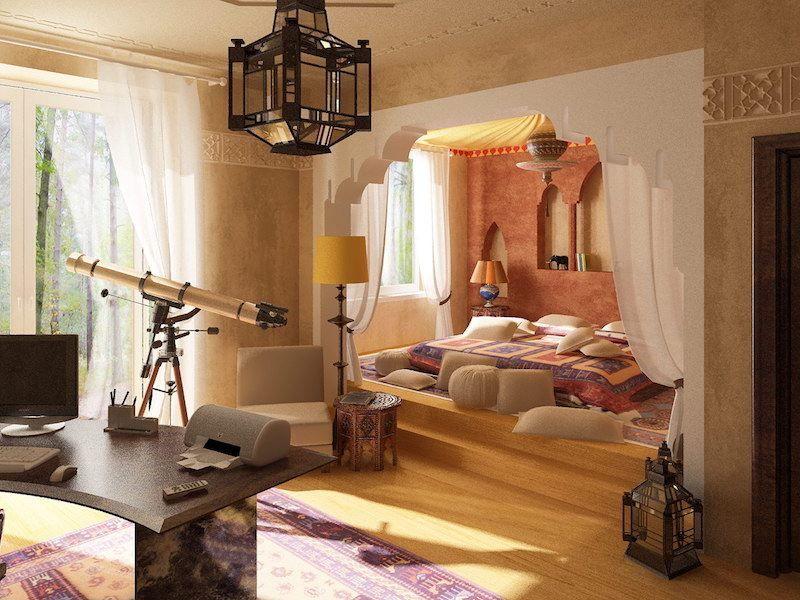 D co orientale 1001 nuits apportez l exotisme chez vous deco chambre marocaine chambres - Deco chambre orientale ...