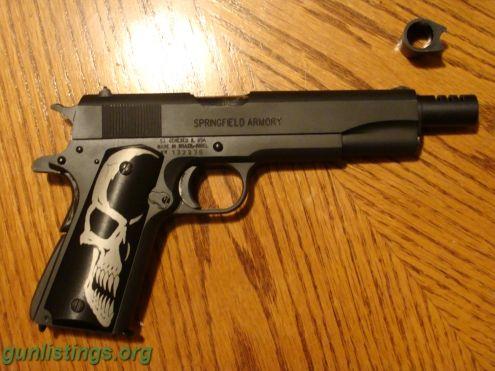 Pistols ** Springfield 1911 GI Plus Extras ** | Greatest