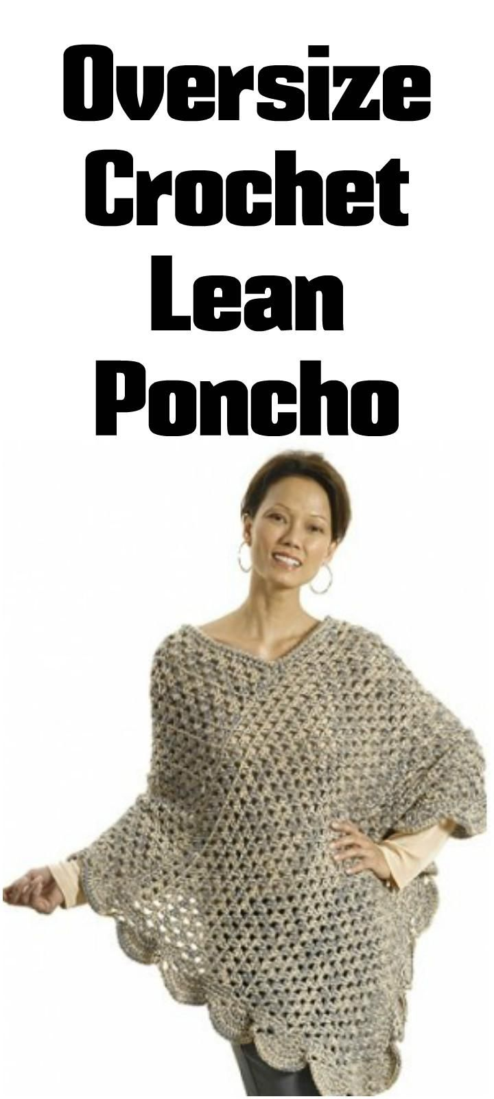 50 Free Crochet Poncho Patterns for All | Accesorios Vestuario ...