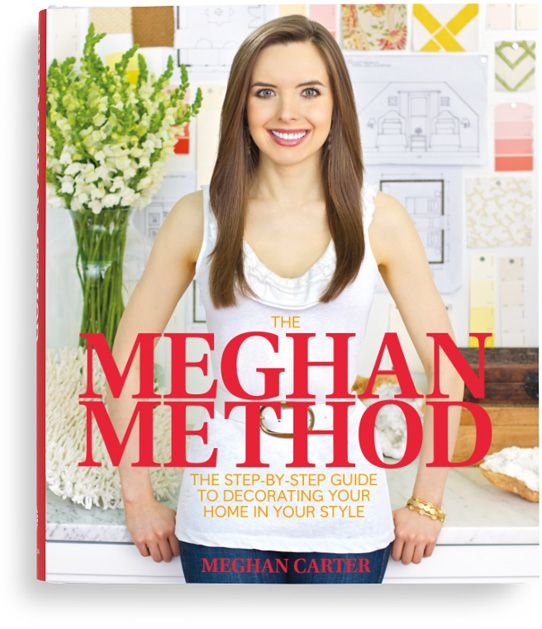 The Meghan Method: The Step-By-Step Guide to Decorating Your Home in Your Style by Meghan Carter