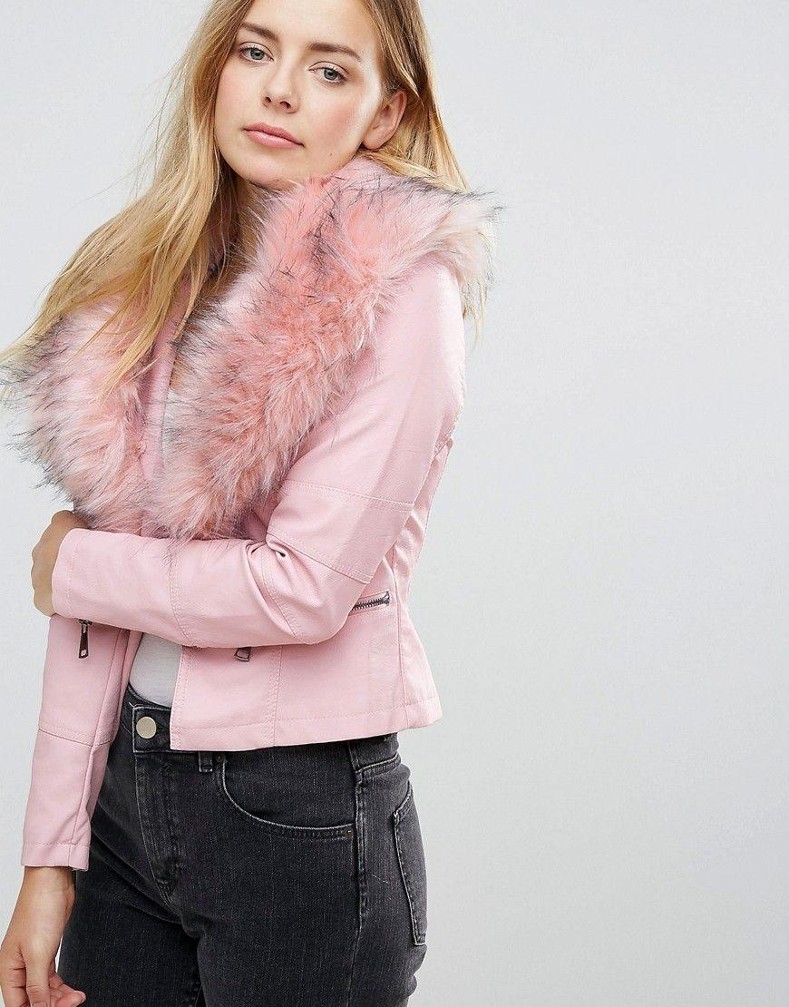 ¡Consigue este tipo de chaqueta de cuero de QED London ahora! Haz clic para 9a98db8b5a45