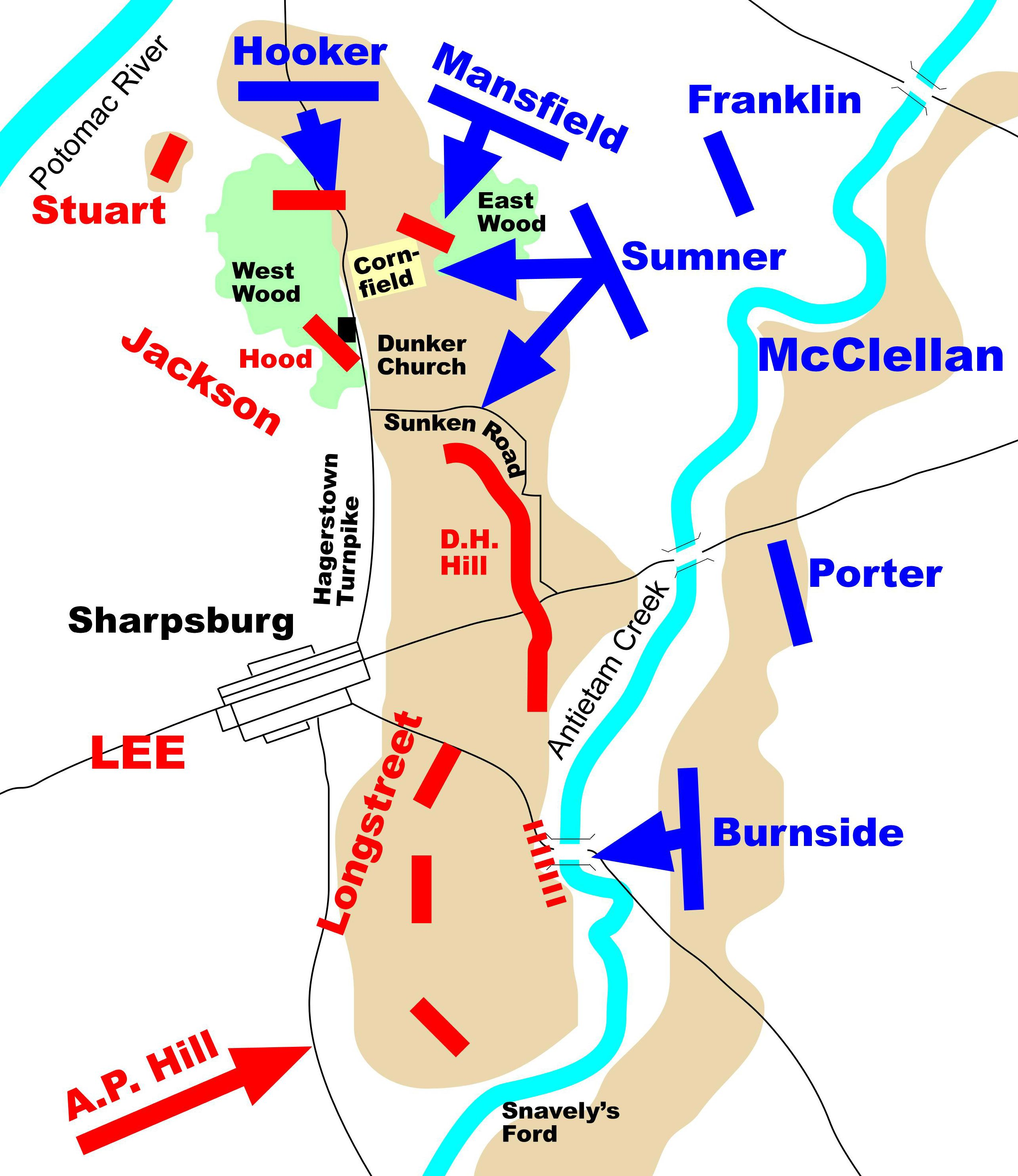Antietam Battle Map MAPS And CARTOGRAPHY Pinterest Civil - Appomattox court house us map