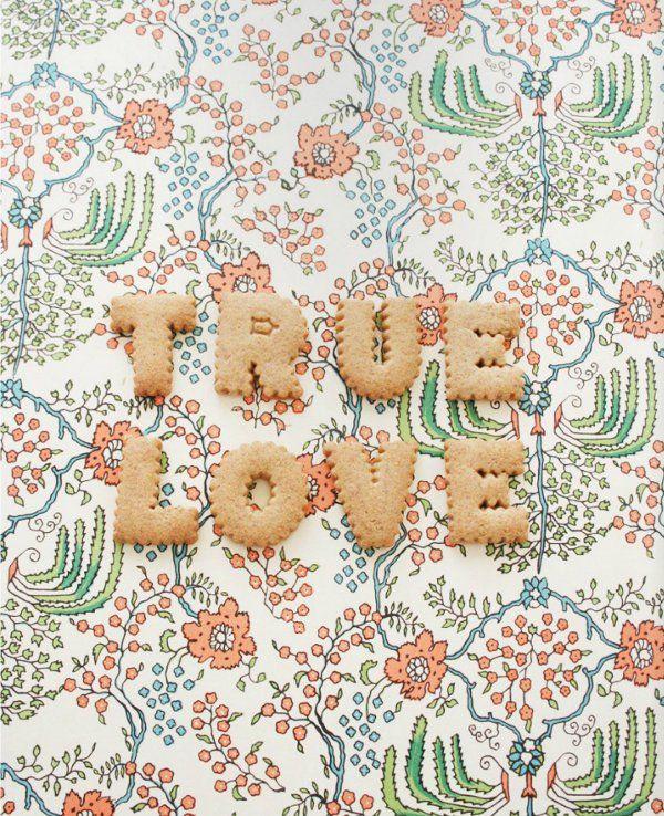 true love in cookie form