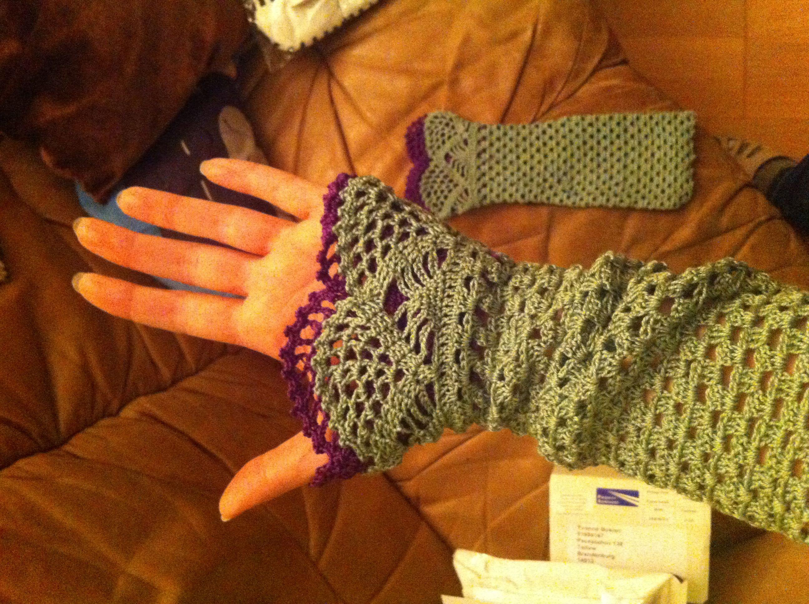 Fancy Häkeln Glove Muster Ideas - Decke Stricken Muster ...