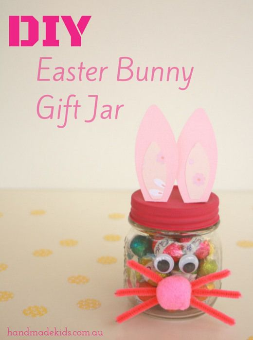 Spotted handmade kids on indie crafts make an easter bunny gift spotted handmade kids on indie crafts make an easter bunny gift jar indie crafts negle Gallery