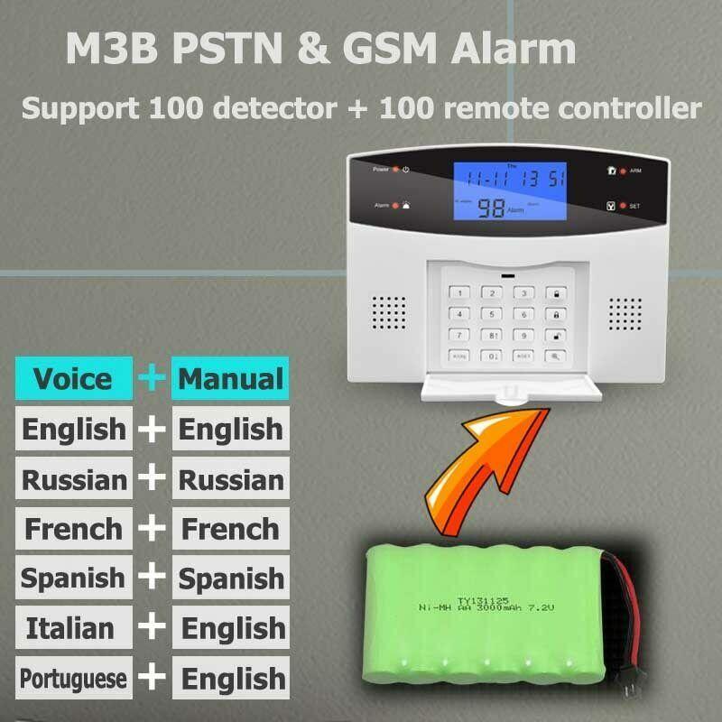 Wireless Wired Pstn Keypad Gsm Sms Home House Alarm System Security Burglar Lot Ebay Alarm Systems For Home Security Cameras For Home Alarm System