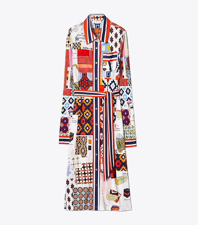 fe5bf9f9f96 Visit Tory Burch to shop for Laurence Shirtdress and more Womens View All.  Find designer